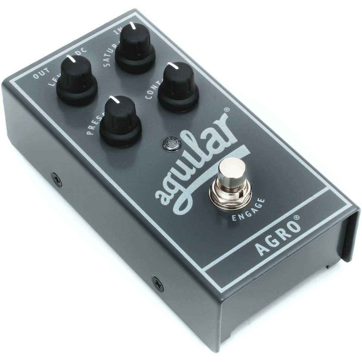 Aguilar AGRO Bass Overdrive Pedal at Gear4music.com