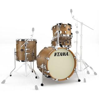 Tama Silverstar Custom 18'' 4 Piece Jazz Shell Pack, Matte Tamo Ash