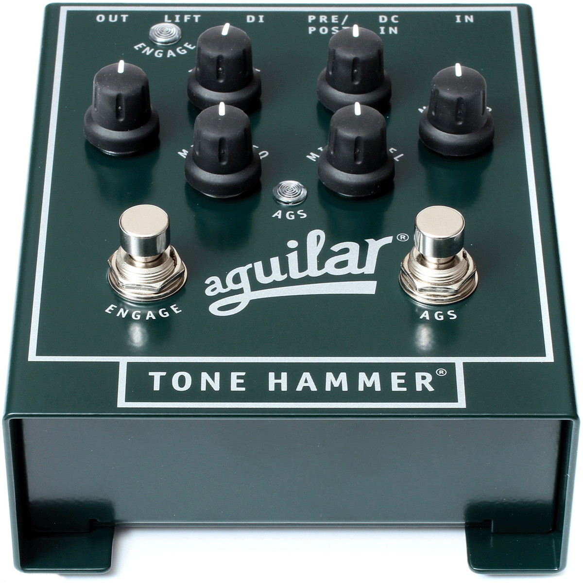 aguilar tone hammer preamp direct box effects pedal at. Black Bedroom Furniture Sets. Home Design Ideas