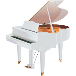 Yamaha G Series GB1K Grand Piano, White Polyester