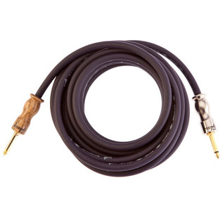 Gibson Premium 18' Instrument Cable, Purple with Walnut Connector