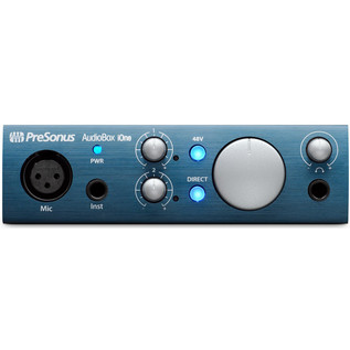 PreSonus AudioBox iOne iPad/USB Audio Interface
