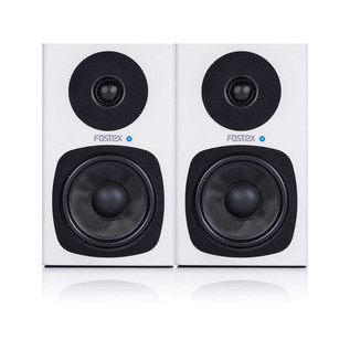 Fostex PM04-D 30W Active Monitors, White