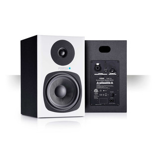 Fostex PM05-D Active Studio Monitors, White