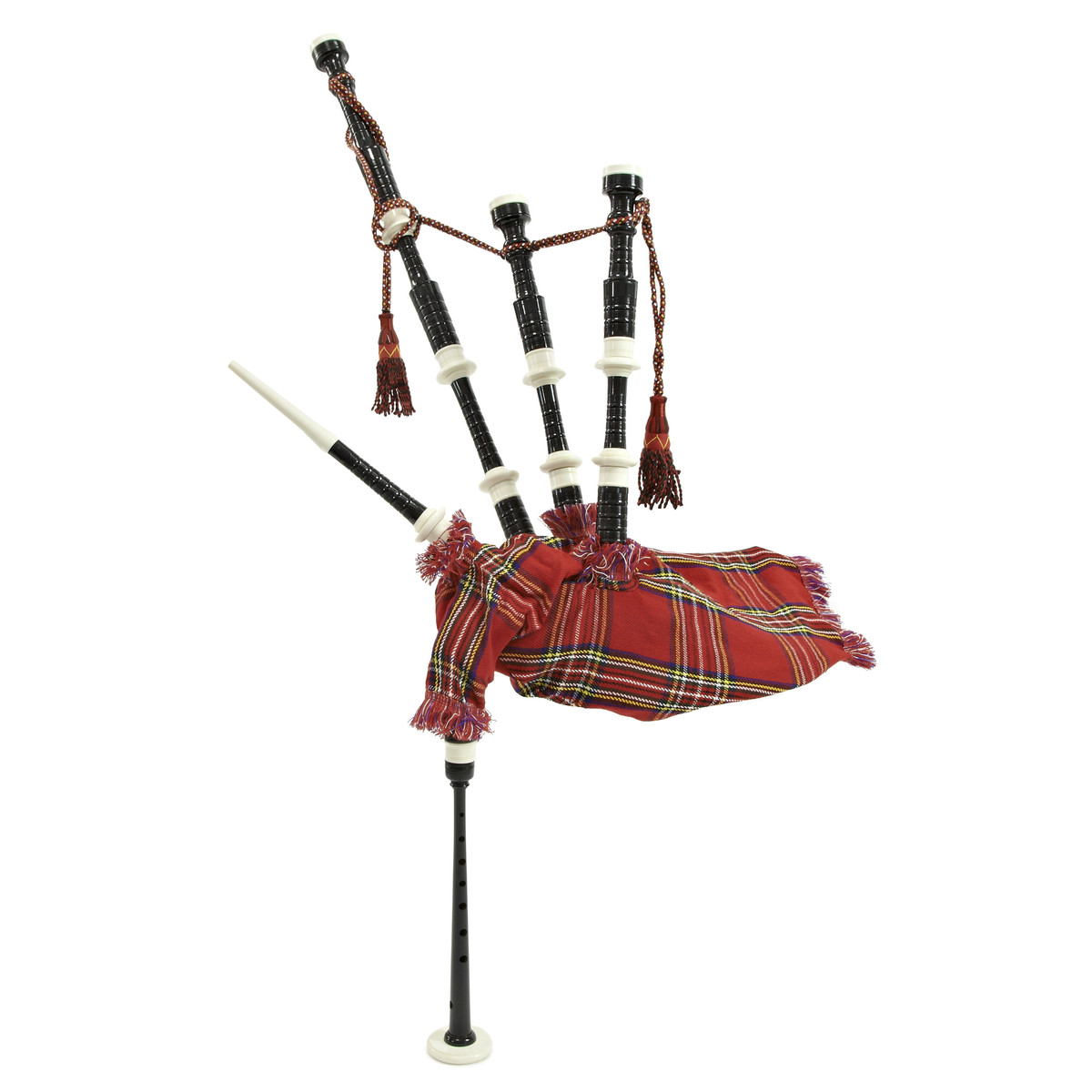 Image of Deluxe Bagpipes by Gear4music Royal Stewart