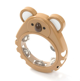 Percussion Plus PP1017 Tambourine, Brown Koala