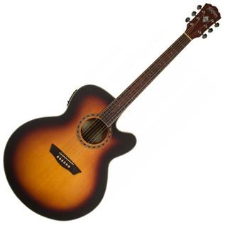 Washburn WJ7SCE ATBM 7 Harvest Series, Jumbo Acoustic