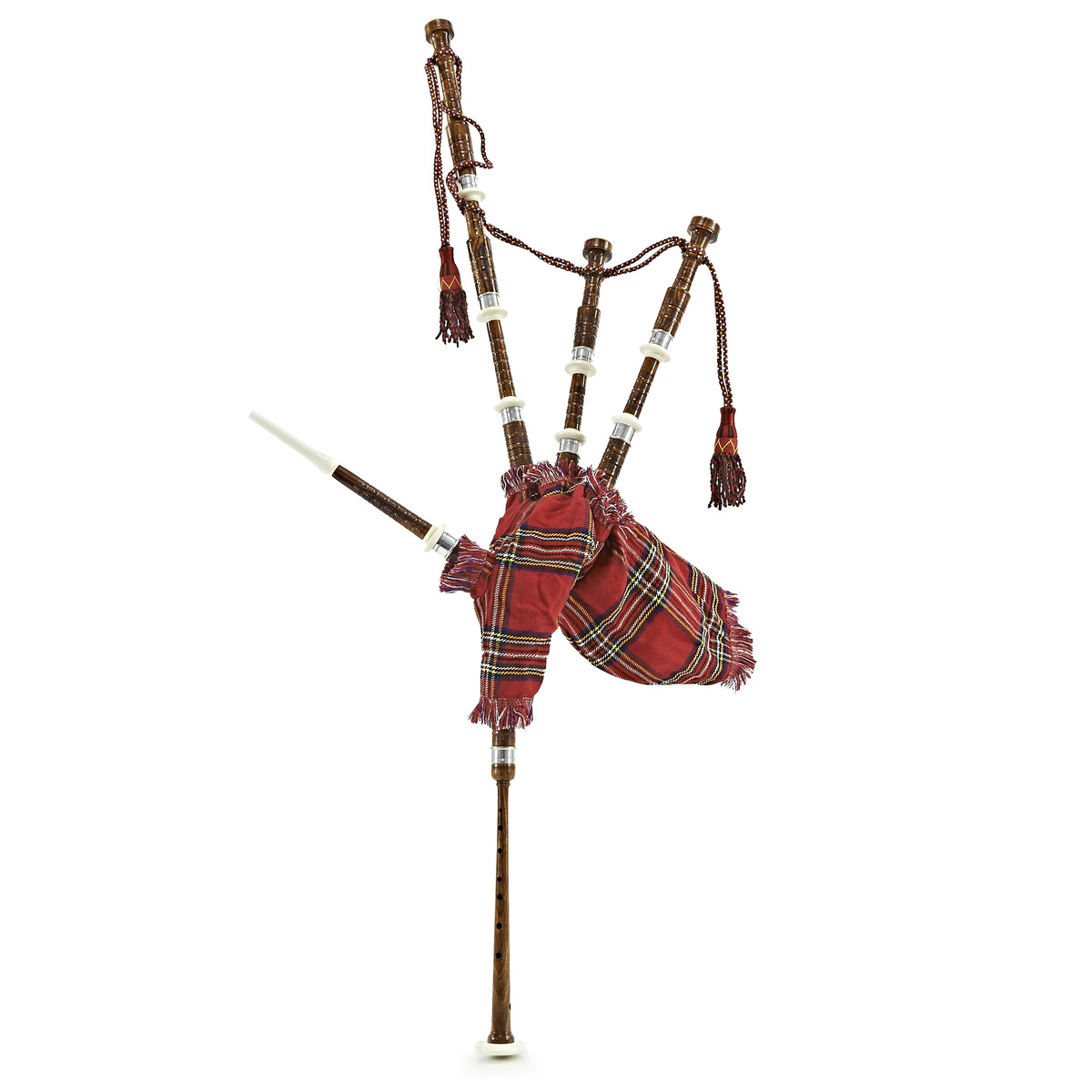 Image of Bagpipes by Gear4music Half Size Royal Stewart