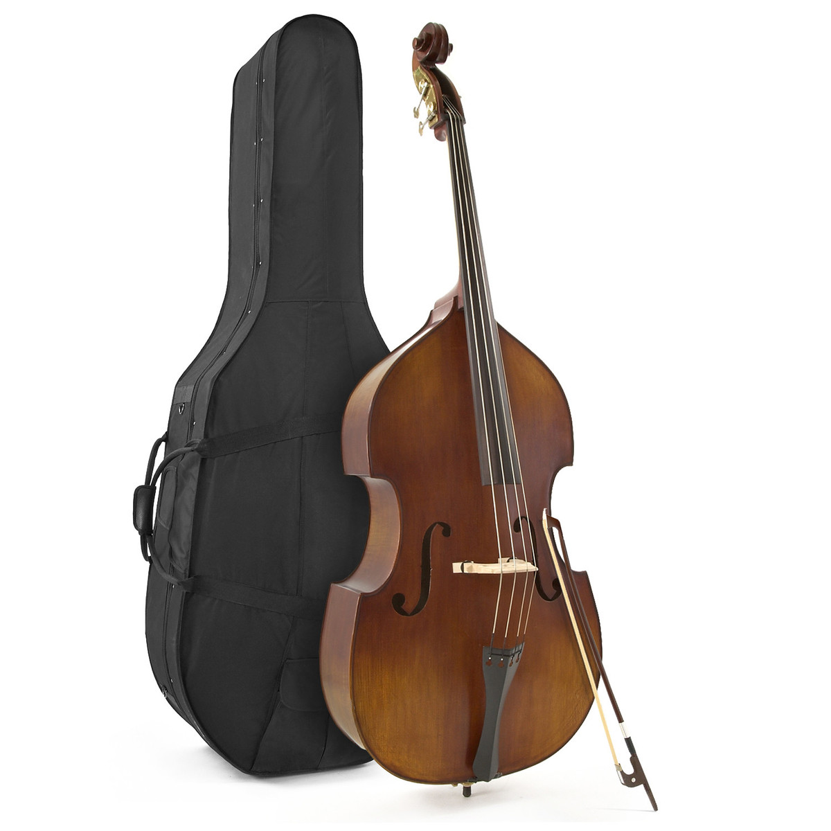 Image of Archer 3/4 Size Professional Double Bass by Gear4music