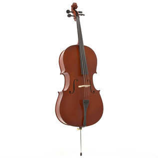 Student 1/4 Size Cello with Case by Gear4music