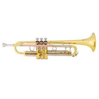 Bach TR400 Trumpet with Deluxe Engraving, Lacquer