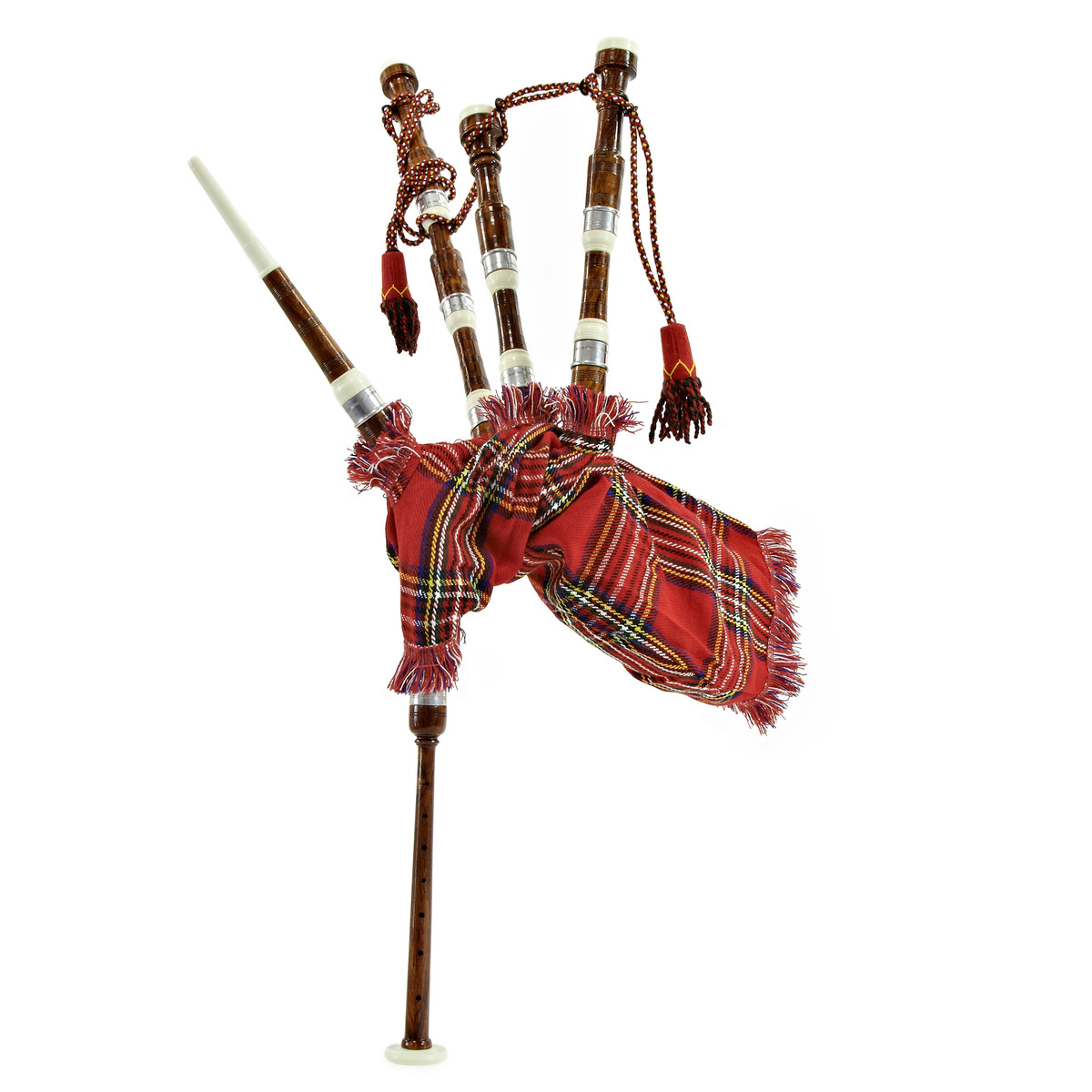 Image of Bagpipes by Gear4music Junior Royal Stewart