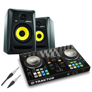 Native Instruments Traktor Kontrol S2 MK2 and KRK RP5 G3 Bundle