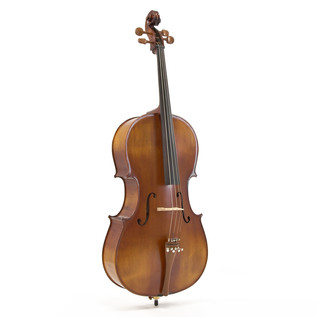 Deluxe 3/4 Cello with Case, Antique Fade, by Gear4music