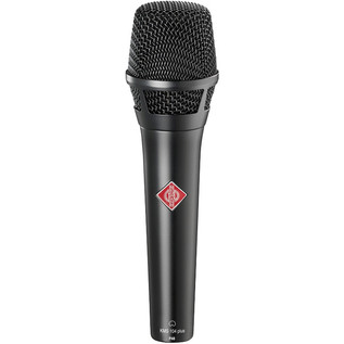 Neumann KMS 104 PLUS Condenser Vocal Mic, Black With FREE XLR Cable
