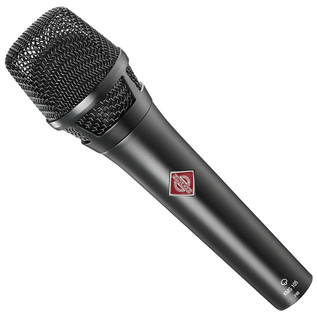 Neumann KMS 105 Super Cardioid Vocal Mic, Black With FREE XLR Cable