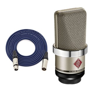 Neumann TLM 102 Condenser Mic, Nickel with Free Neutrik 3m XLR Cable