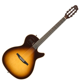 Godin Multiac Steel Duet Ambiance Sunburst HG with Bag