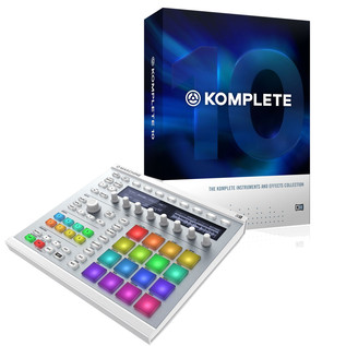 Native Instruments Maschine MK2 White and Komplete 10 Bundle