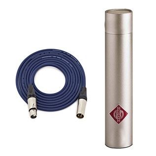 Neumann KM 183 Condenser Mic, Nickel with Free Neutrik 3m XLR Cable