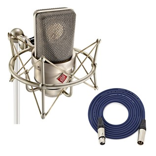 Neumann TLM 103 Studio Mic Set, Nickel with Free Neutrik 3m XLR Cable