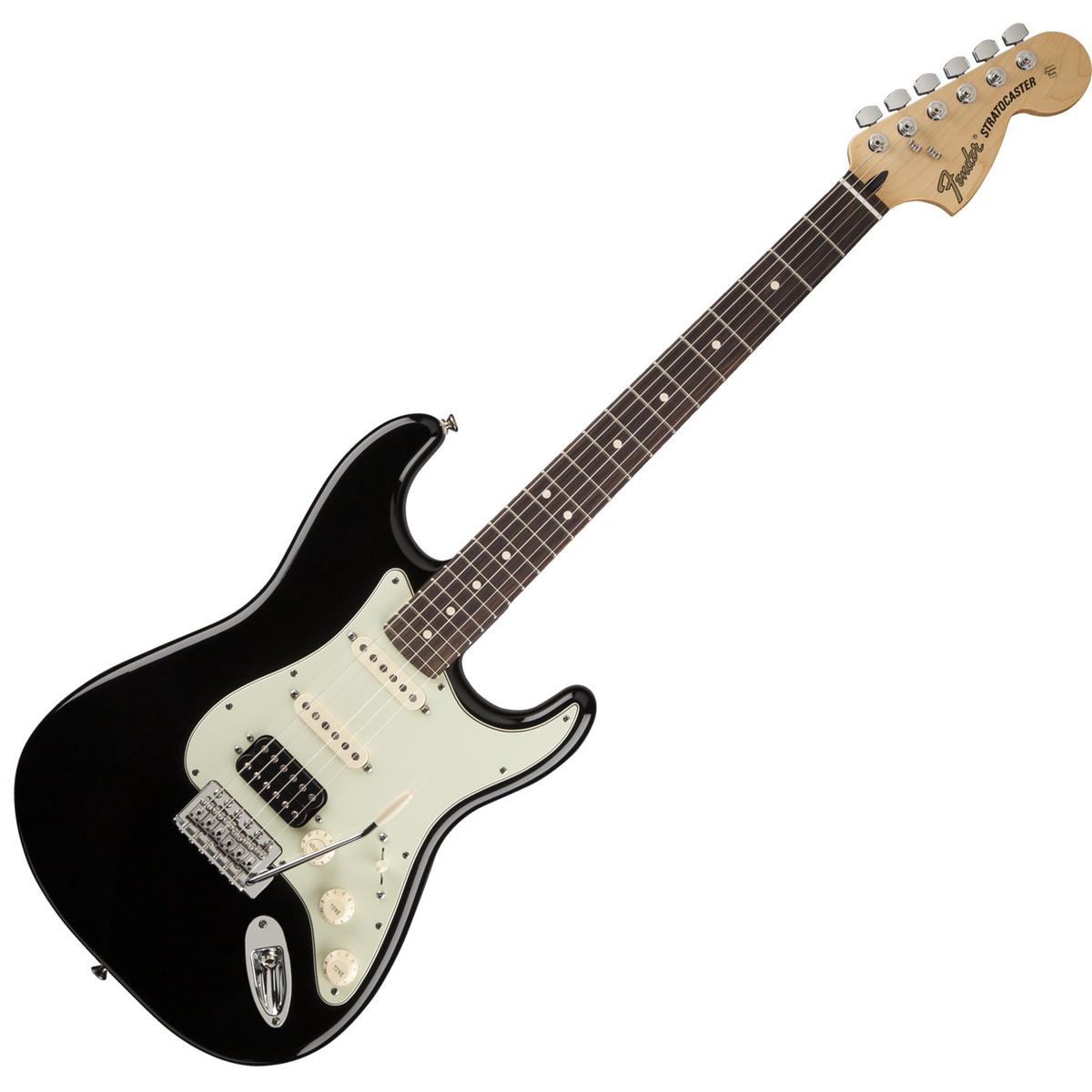 Disc Fender Deluxe Lonestar Stratocaster Black At