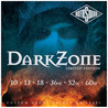 Corde ROTOSOUND DZ10 zona Dark chitarra elettrica, 10-60