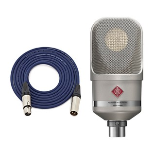 Neumann TLM 107 Microphone, Nickel with Free Neutrik 3m XLR Cable