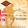 Rotosound Tru Bronze TB12 messing legering Akustisk Guitar strenge, 12-54
