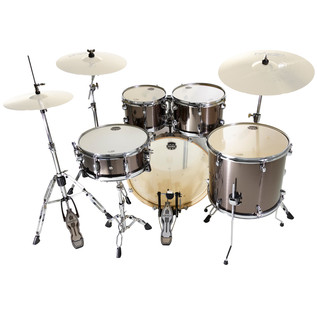 Mapex Horizon II 22'' Rock Fusion Drum Kit, Grey Steel