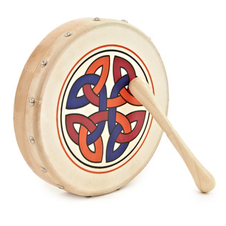 8 inch Mini Celtic Bodhran by Gear4music