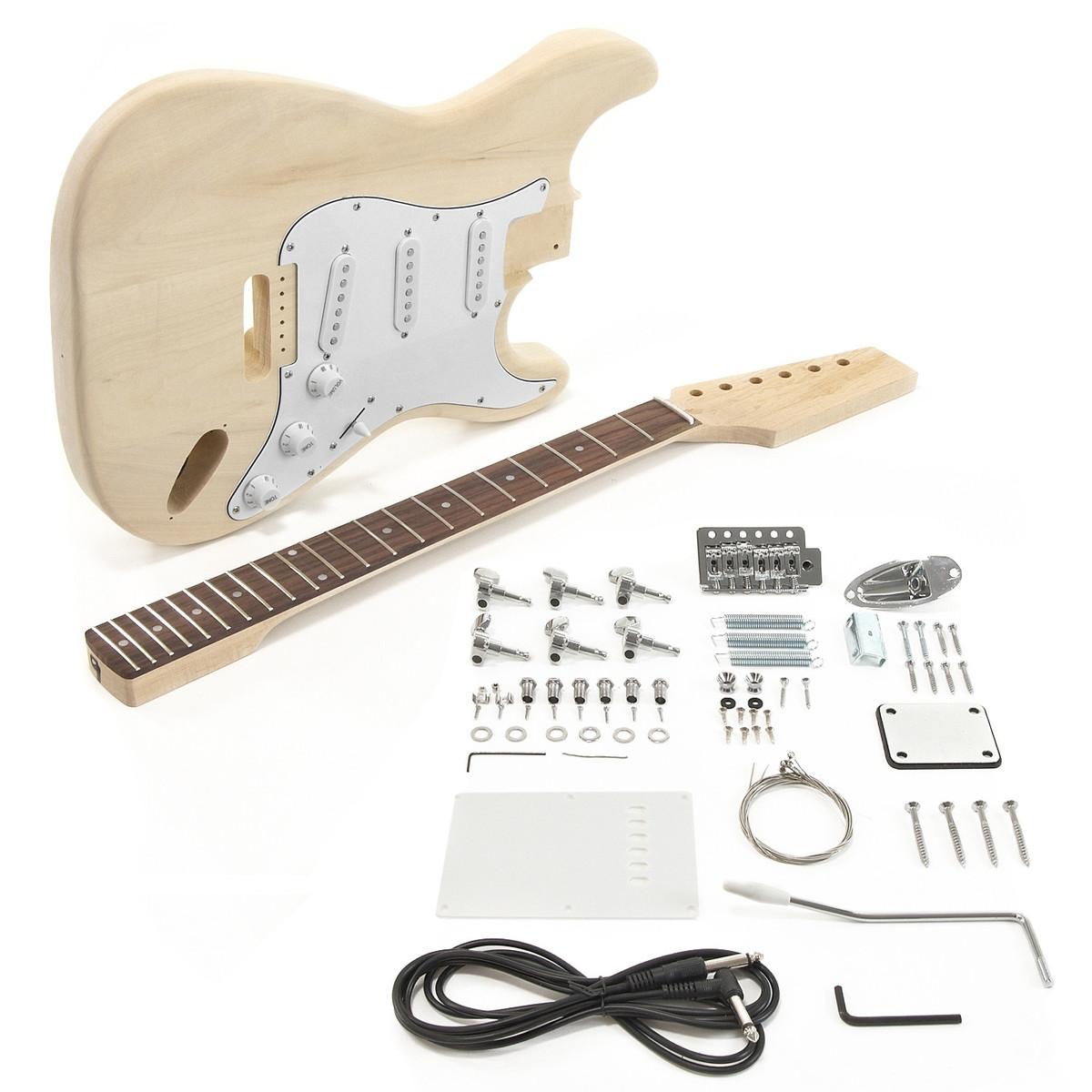 la electric guitar diy kit at. Black Bedroom Furniture Sets. Home Design Ideas