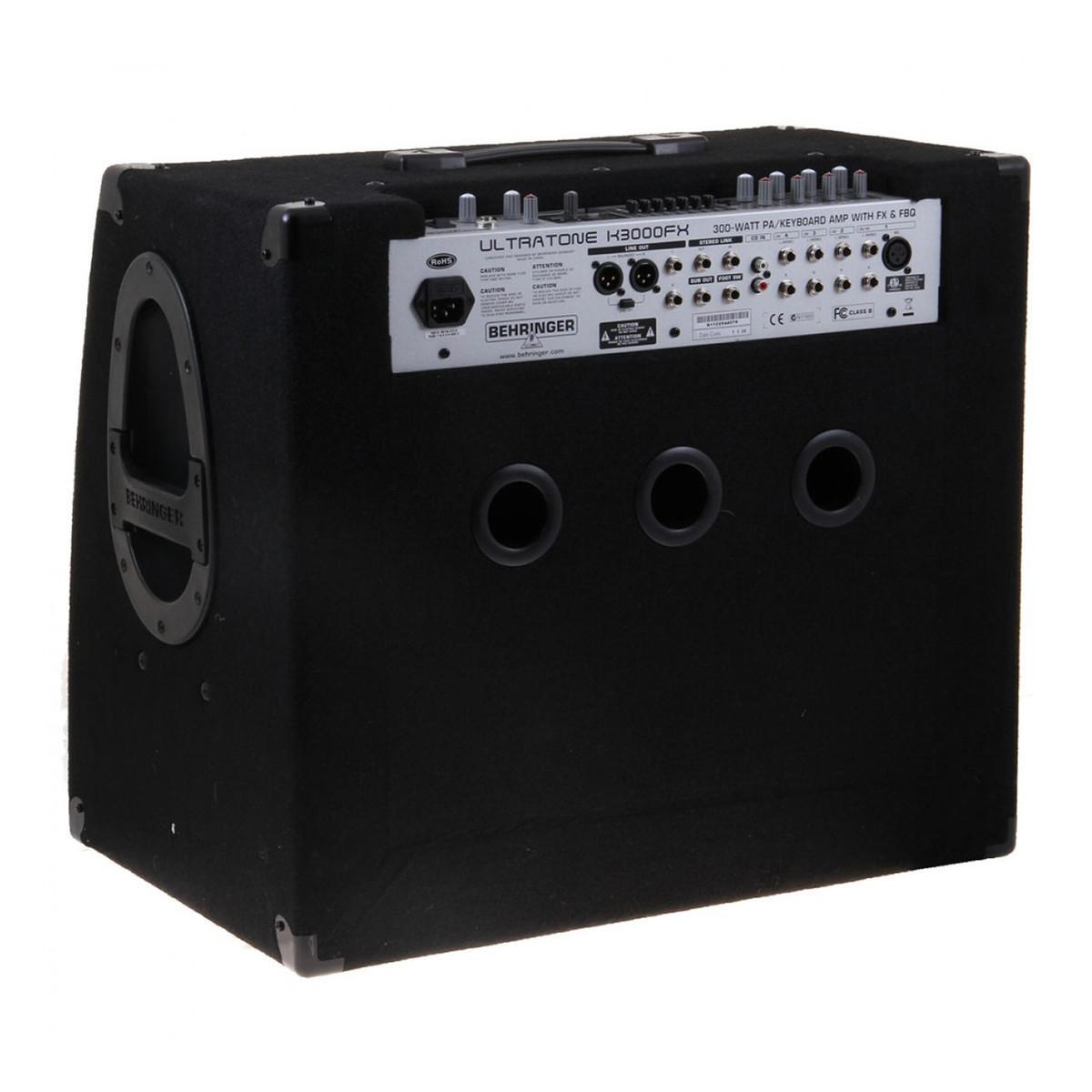 behringer k3000fx ultratone keyboard amp ex demo at. Black Bedroom Furniture Sets. Home Design Ideas