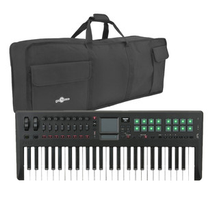 Korg Taktile-49 49 Key USB/MIDI Controller Keyboard with FREE Bag
