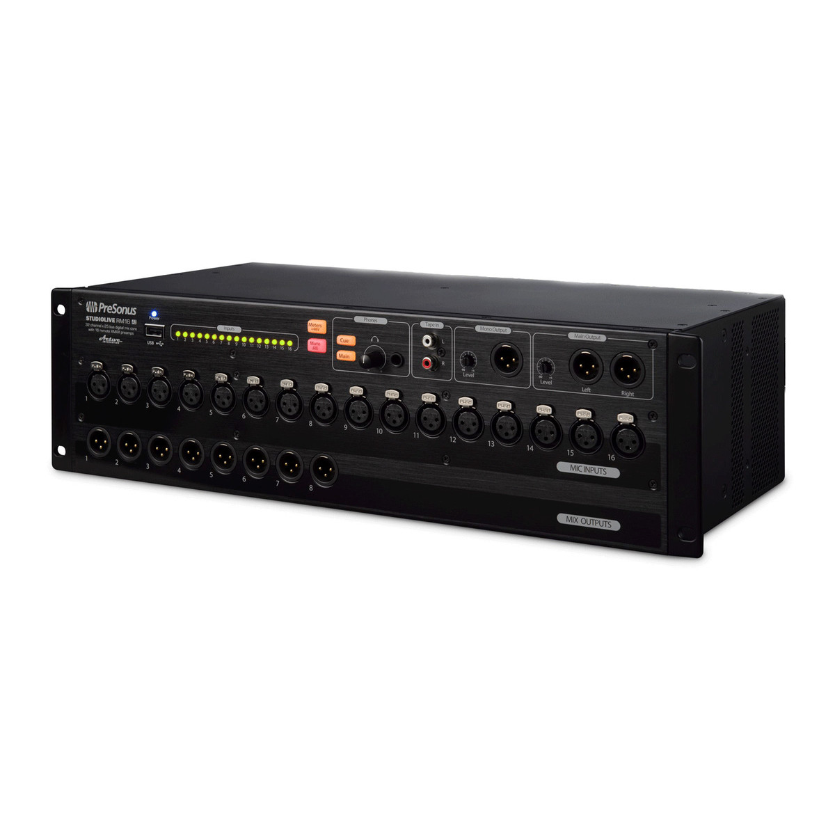 disc presonus rm16ai rack mount software controlled