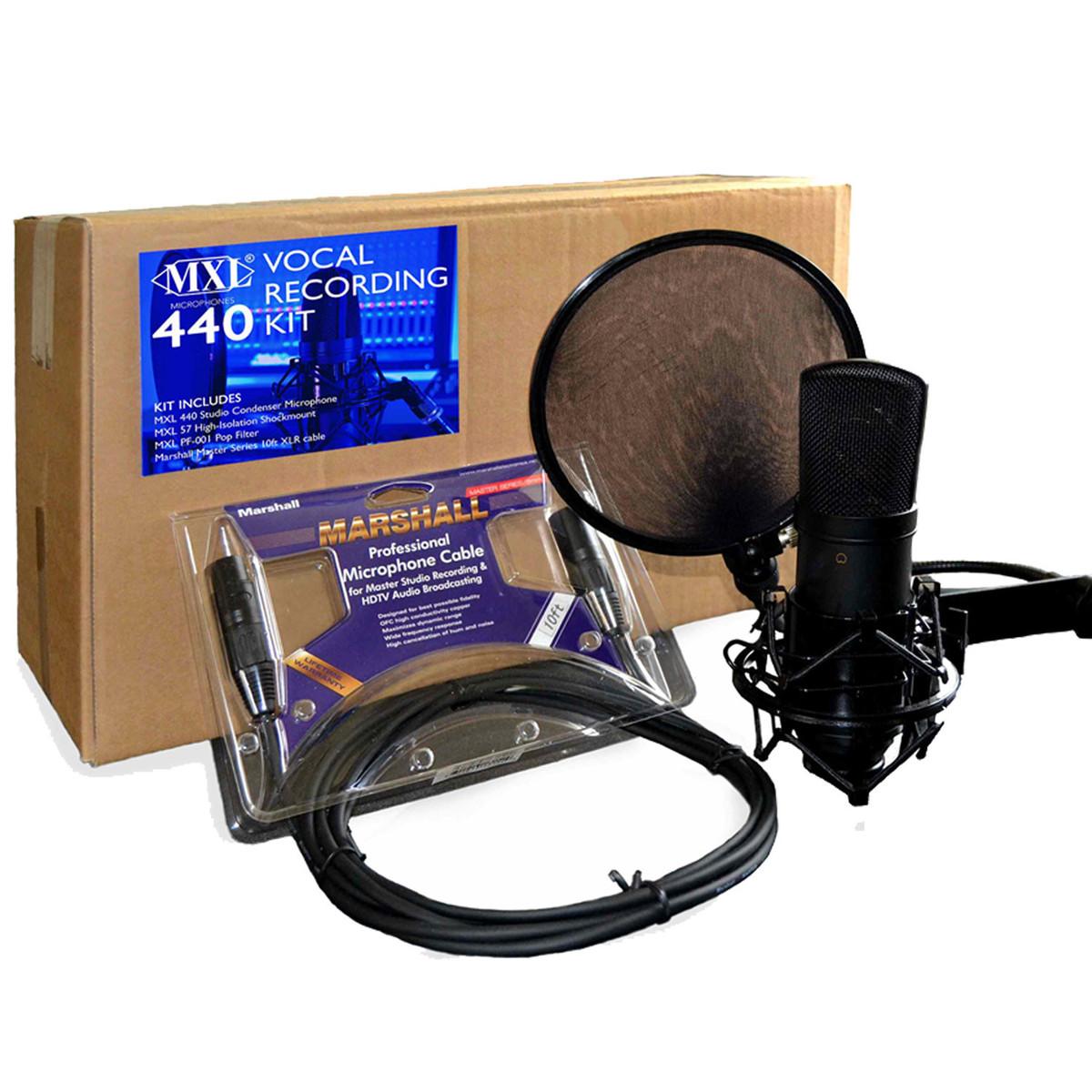 Image of MXL 440 Vocal Recording Kit