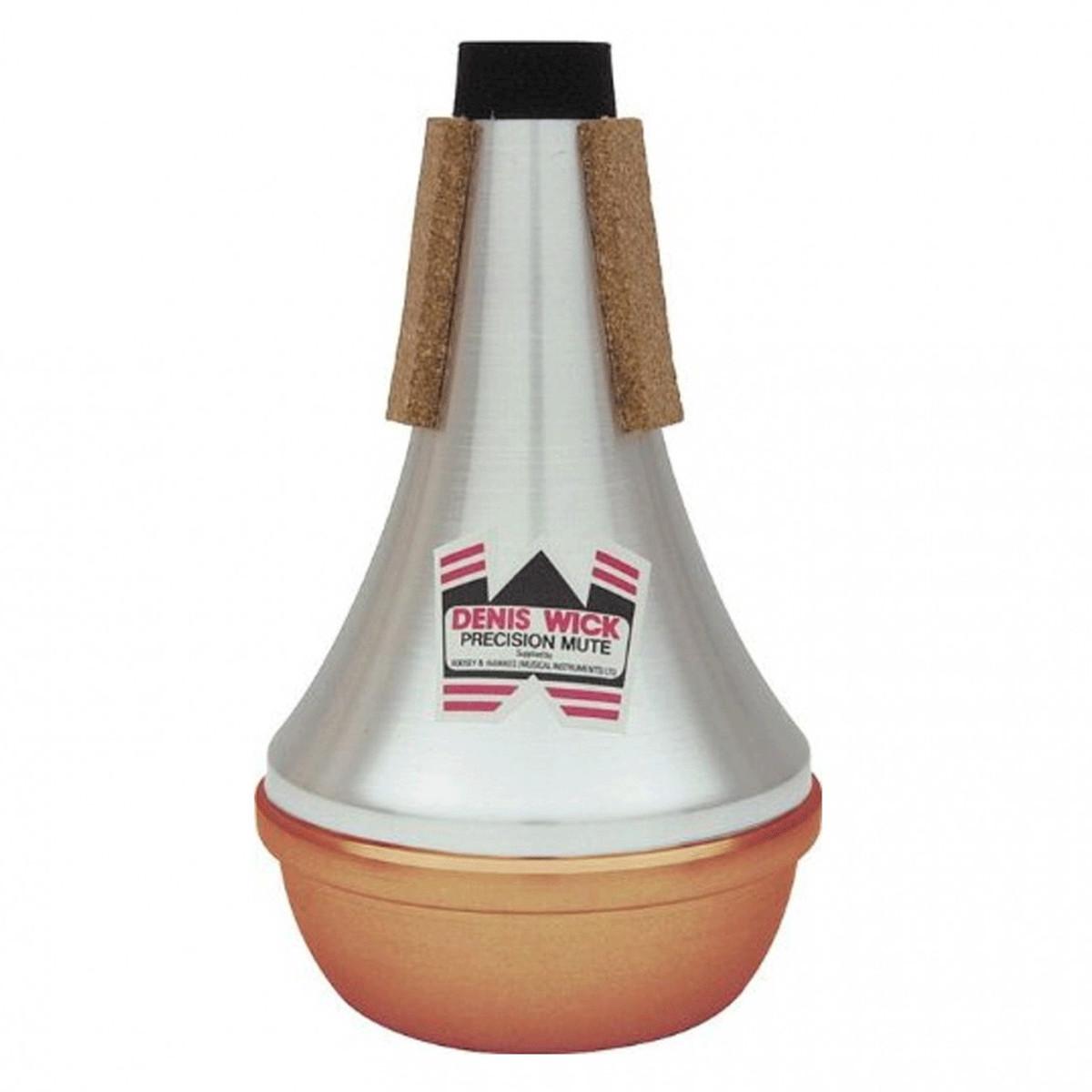 Image of Denis Wick Straight Trumpet/Cornet Mute Copper Bottom