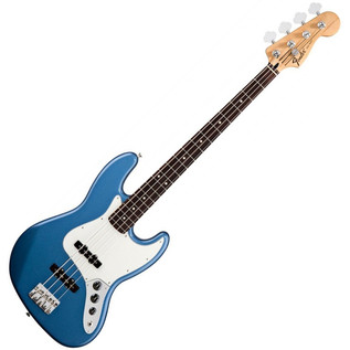 Fender Standard Jazz Bass Guitar, RW, Lake Placid Blue