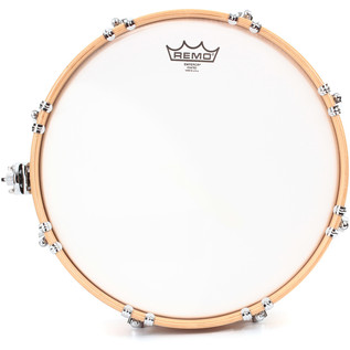 PDP Drums 14'' x 6'' Maple Snare with Wood Hoops, Gloss Natural