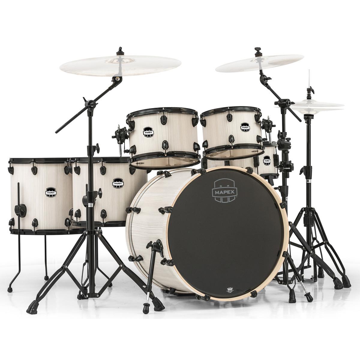 mapex mars 22 39 39 special edition fusion 6 piece drum kit bonewood at. Black Bedroom Furniture Sets. Home Design Ideas