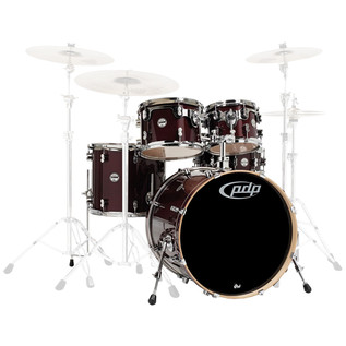 PDP Drums Concept Maple 22'' CM5 Shell Pack, Transparent Cherry