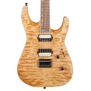 Jackson DK2QHT Pro Series Dinky Electric Guitar, Natural