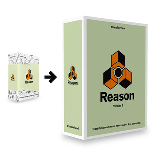Propellerhead Reason 7 - FREE Upgrade to Reason 8 Upon Release