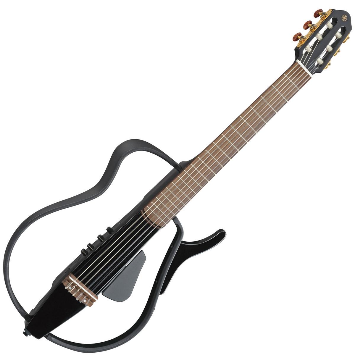 disc yamaha slg110n silent guitar black metallic at. Black Bedroom Furniture Sets. Home Design Ideas