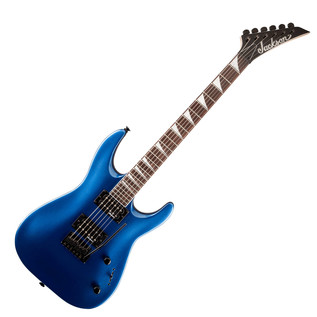 Jackson JS22 Dinky Arch Top Electric Guitar, Metallic Blue