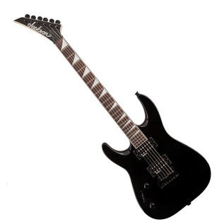 Jackson JS22L Dinky Left Handed Electric Guitar, Gloss Black