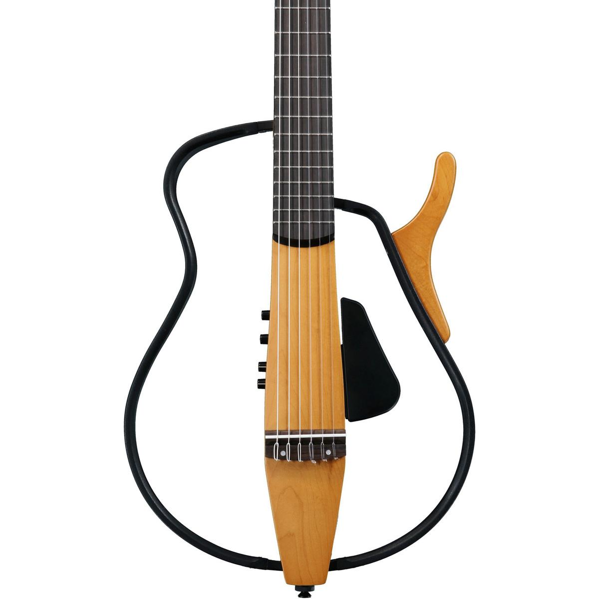 disc yamaha slg110 silent guitar natural at. Black Bedroom Furniture Sets. Home Design Ideas