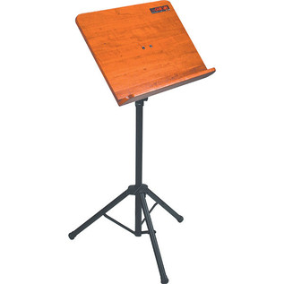 Quiklok Orchestra Sheet Stand With Wood Music Desk