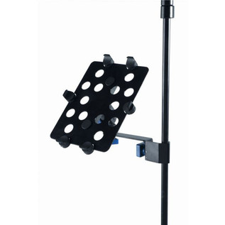 Quiklok iPad Holder For Music And Mic Stands Side
