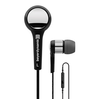 Beyerdynamic MMX 102 iE In Ear Headphones, Black/Silver